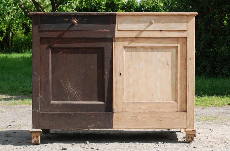 sablage meubles anciens dpt vente duune bonnetire du me sicle en noyer dcaper par sablage with. Black Bedroom Furniture Sets. Home Design Ideas